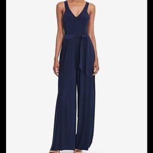 EUC! Ralph Lauren navy blue jumpsuit